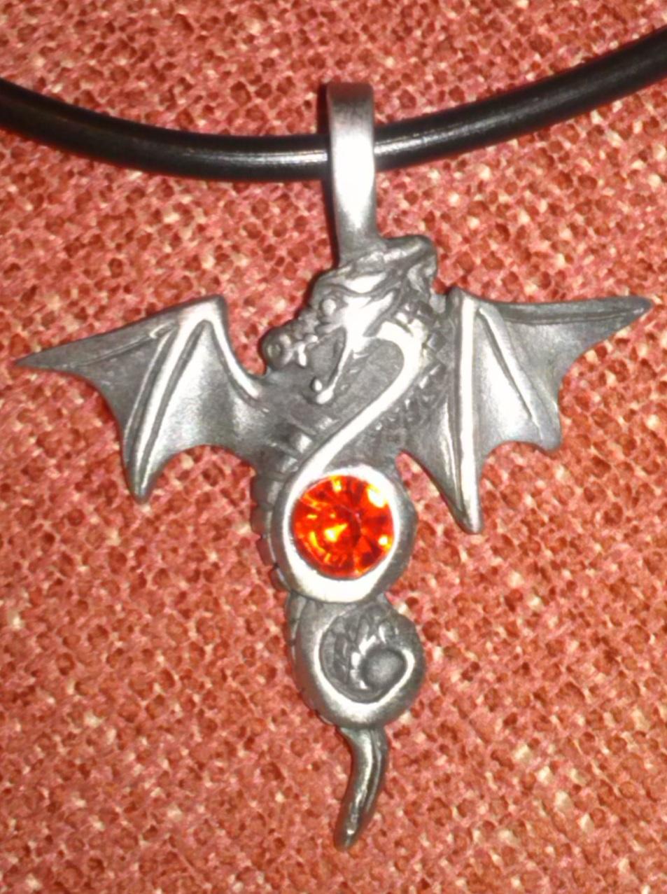 A dragon pendant